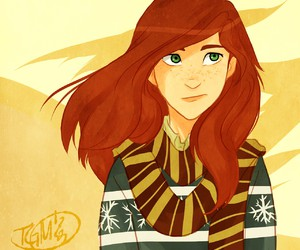 harry potter, lily evans, and gryffindor image