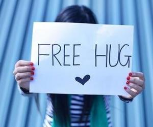 hug, free hug, and free image