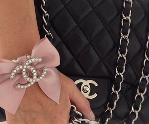 chanel bow pink image