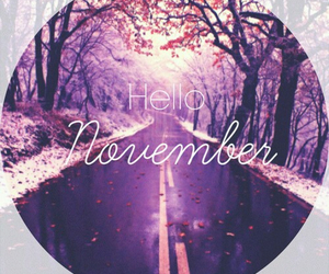 hello, Herbst, and november image
