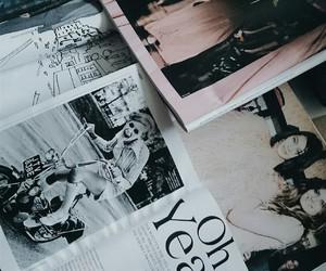 fashion, magazine, and read image