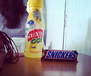 snickers and cedevita image