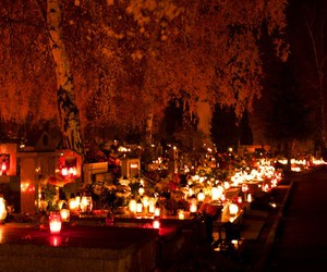 candles, cemeteries, and Croatia image