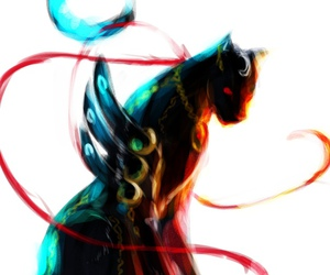 panther and bayonetta image