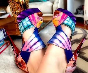 beautiful, shoes, and heels image