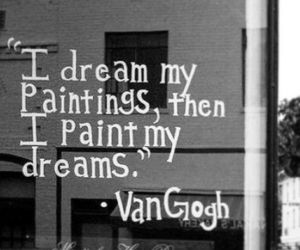 Dream, quote, and painting image