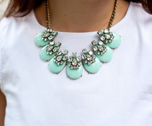 necklace and teal image