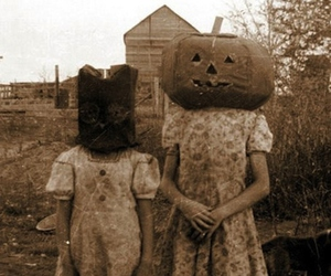 Halloween, creepy, and pumpkin image