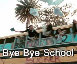 school, bye, and charli xcx image