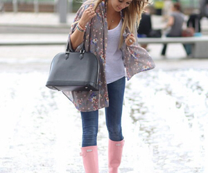 outfit, style, and hair image
