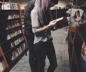 couple, love, and indie image