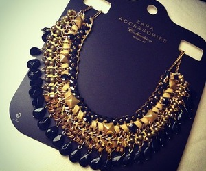 Zara, accessories, and necklace image