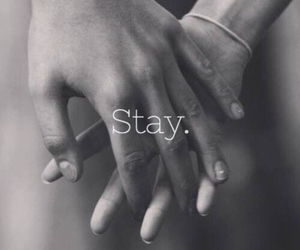 alone, my, and stay image