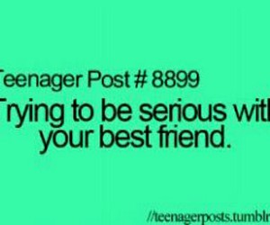 best friends, teenager post, and serious image