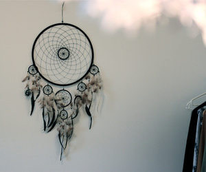 dreamcatcher and feather image