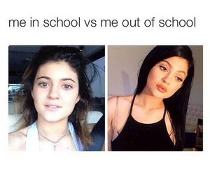 story, true, and kylie jenner image