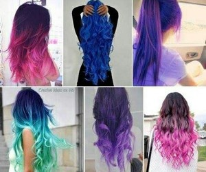 color and hairs image