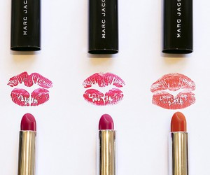 lipstick, makeup, and marc jacobs image