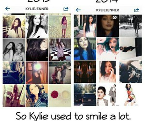 smile and kylie jenner image