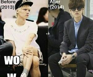 after, before, and luhan image