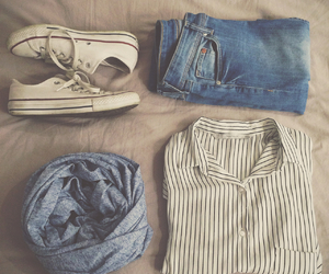 chemise, converse, and fashion image