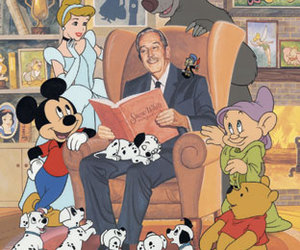 disney, walt disney, and cinderella image