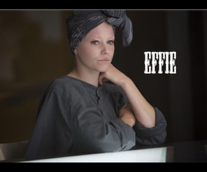 effie, hunger games, and mockingjay image