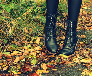 boots, photography, and shoes image