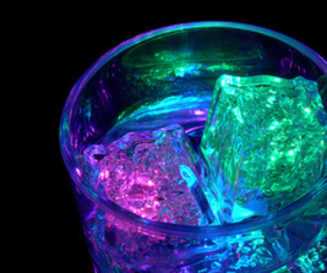 drink, ice, and light image