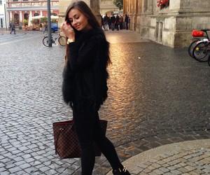 beauty, fashion, and fur image