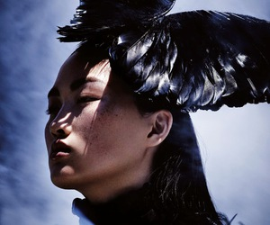 Ben Hassett, vogue china, and jing wen image