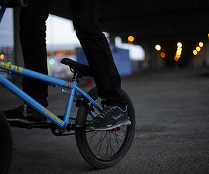bmx, boy, and bike image