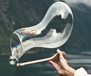 bubbles, photography, and nature image