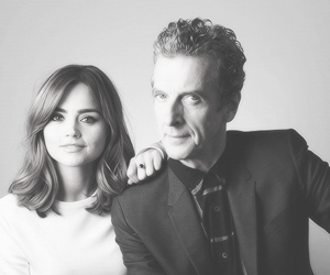 jenna coleman, peter capaldi, and doctor who image
