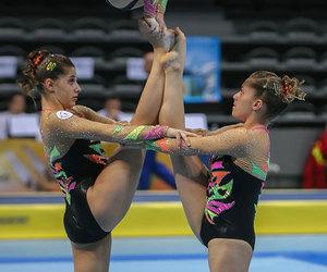 acro and acrobatic gymnastics image