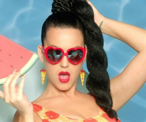 katy perry, this is how we do, and watermelon image