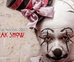 american horror story, clown, and freak show image