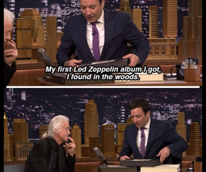 jimmy page, jimmy fallon, and led zeppelin image