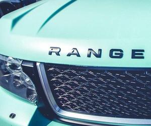 car, range rover, and range image