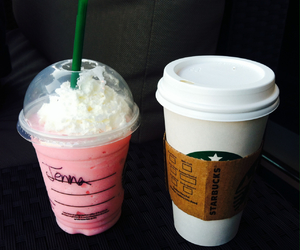 coffee, cotton candy, and cup image
