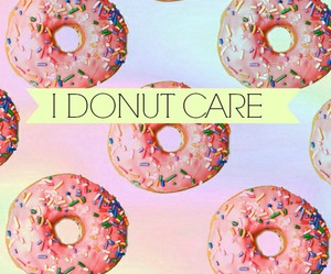 background, donut, and food image