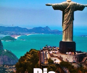 brazil, rio, and travel image