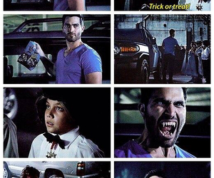 teen wolf, derek hale, and Halloween image
