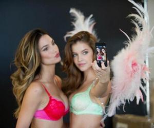 model, Victoria's Secret, and barbara palvin image