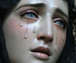 tears, cry, and sad image