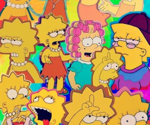 backround, lisa, and Collage image