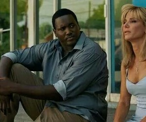 sandra bullock, the blind side, and quinton aaron image