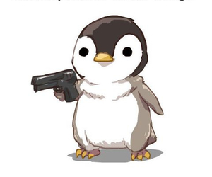 penguin, cute, and funny image