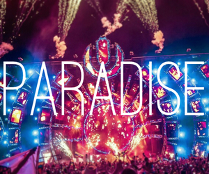 paradise, lights, and ultra image