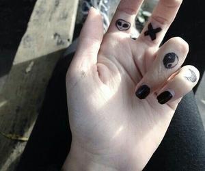 grunge, black, and tattoo image